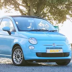 Fiat 500C von BAUR