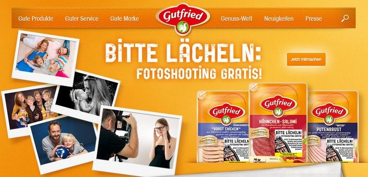 Gutfried Fotoshooting