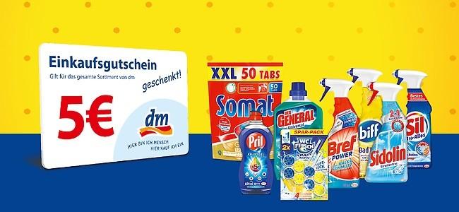 Henkel Produkte kaufen, 5€ Gutschein erhalten