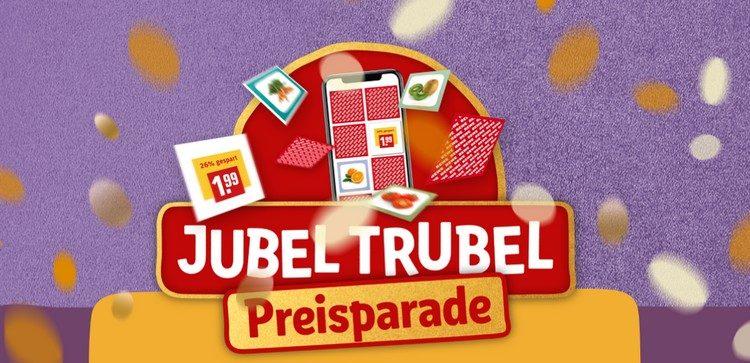 JubelTrubel Preisparade bei REWE