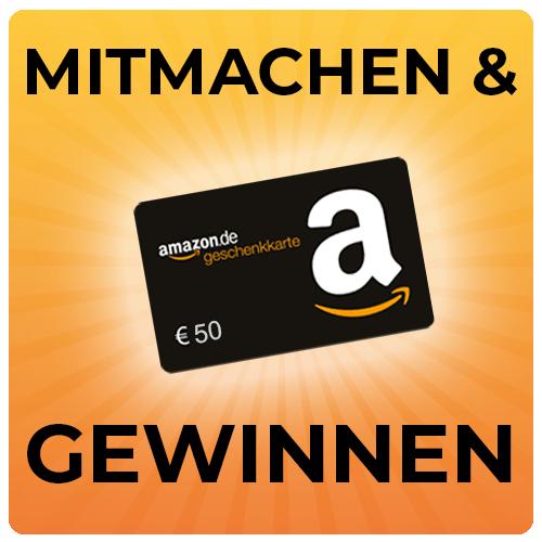 bei kostenlos.de 50€ Amazon.de Gutschein gewinnen