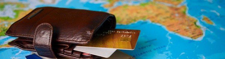 Kreditkarten im Geldbeutel