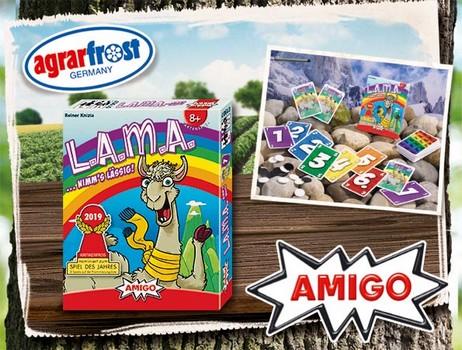 Lama-Kartenspiel agrarfrost