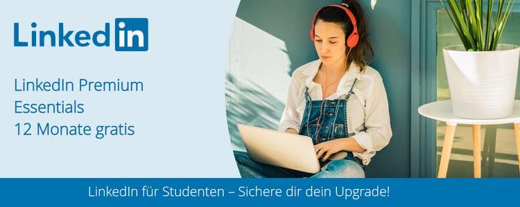 LinkedIn für Studenten kostenlos