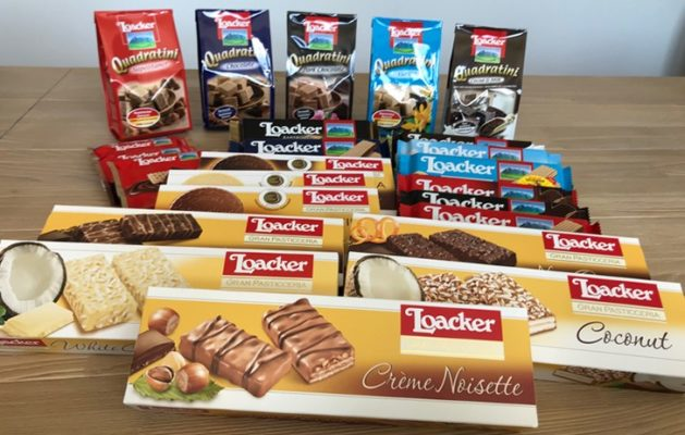 Produkte von Loacker