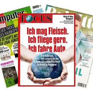 """Zeitschriften bei """"MeinAbo - gratis"""""""