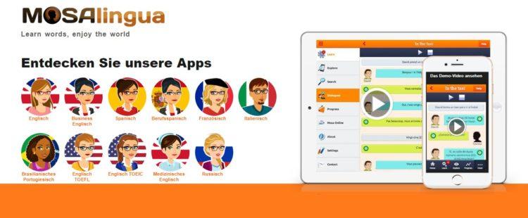 Mosalingua App