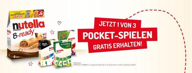 Nutella Pockt-Spiele