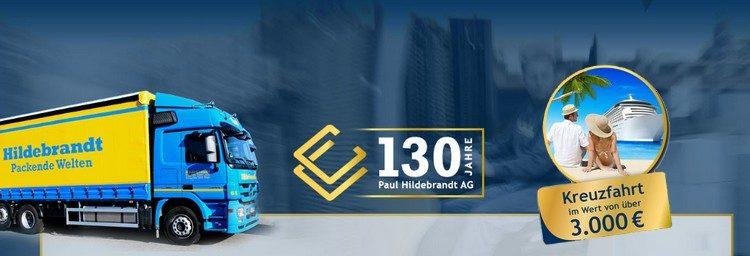 Paul Hildebrandt 130 Jahre