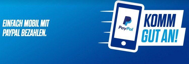 komm gut an-Aktion von paypal