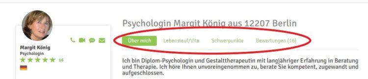 Psychologin mentavio