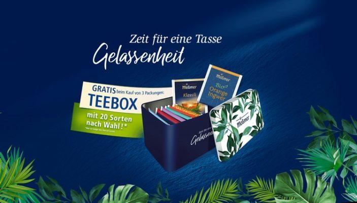 Teebox von Meßmer