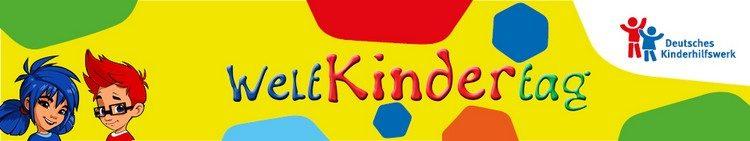 Weltkindertagsfest Berlin-Banner