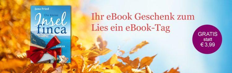 """eBook """"die kleine Insel finca"""" geschenkt"""