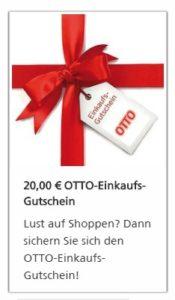 20€ Otto Gutschein