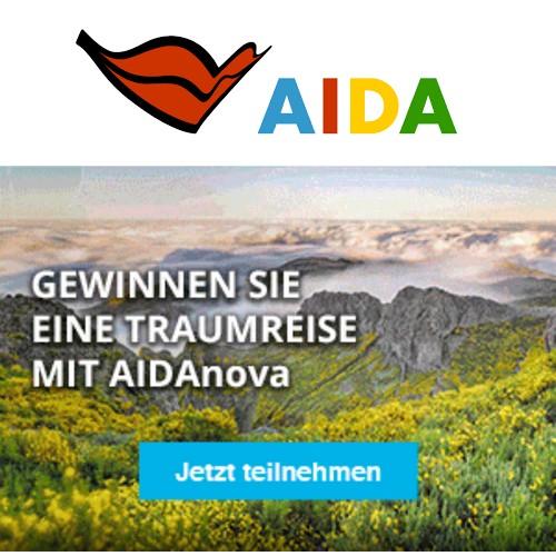 Aida Kreuzfahrt gewinnen