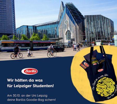 Barilla Goodiebag in Leipzig
