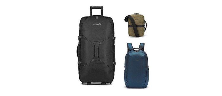 Reisegepäckset von PAcsafe