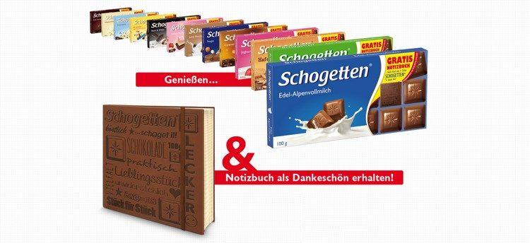 Notizbuch von Schogetten