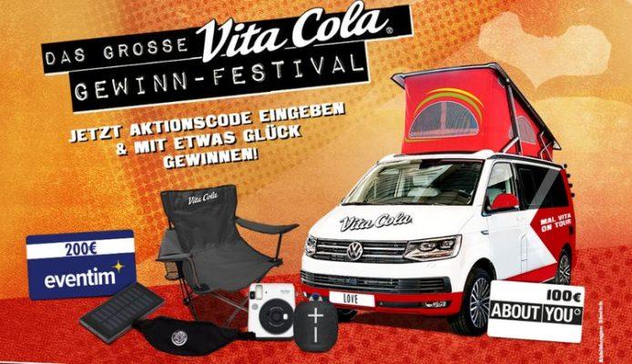 Vita Cola Gewinnspiel
