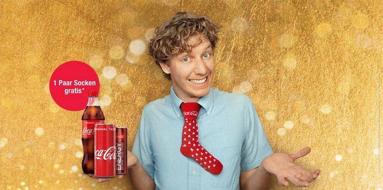 Coca Cola Socken bei Total