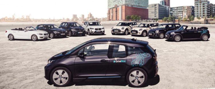 Fahrzeuge bei DriveNow