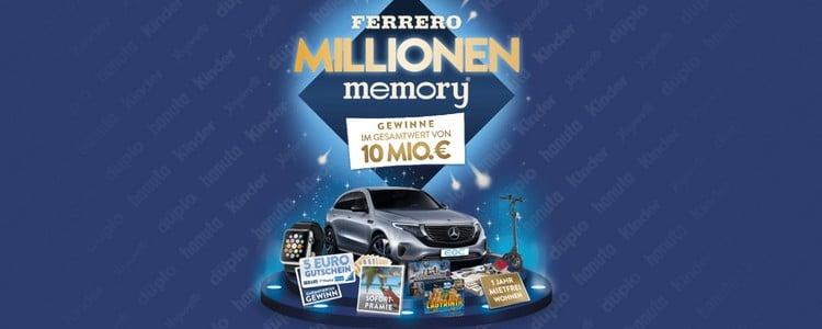 Ferrero Millionen Memory