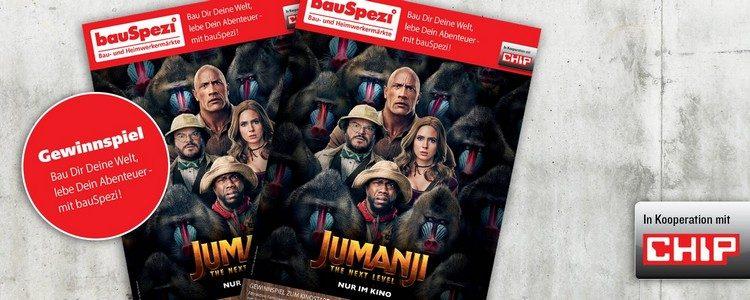 Jumanji-Gewinnspiel von bauSpezi