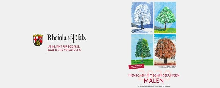 """Kalender 2020 """"Menschen mit Behinderung malen"""""""