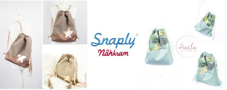 Snaply Nähkram Rucksack
