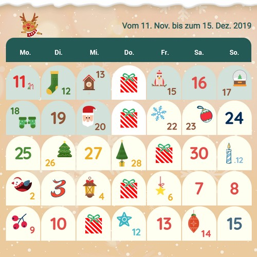 Songmics Adventskalender