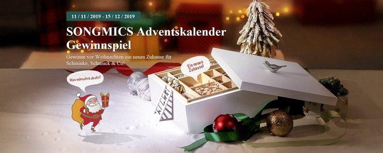 Adventskalender-Gewinnspiel von Songmics