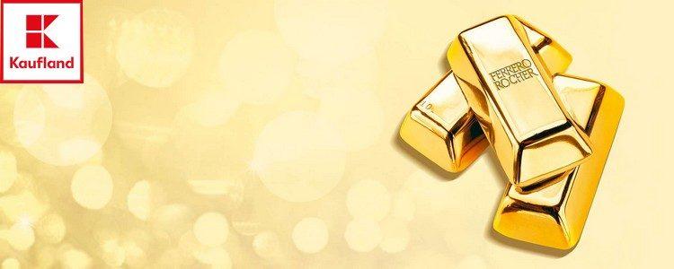 Bei Kaufland Gold gewinnen