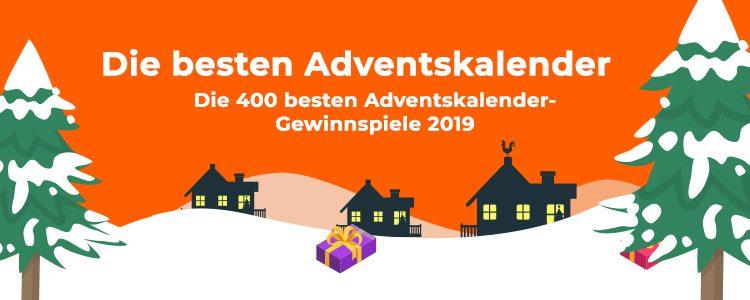 Die 400 besten Adventskalender-Gewinnspiele