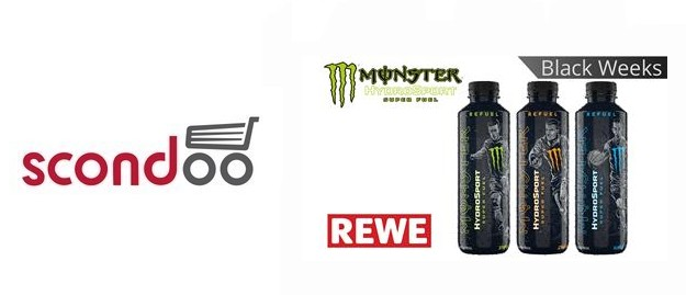 Monster Hydro Sport bei REWE gratis testen