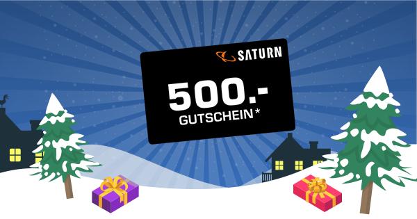 500€ Saturn Gutschein gewinnen