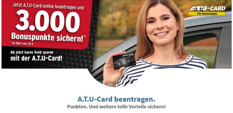 ATU Card beantragen