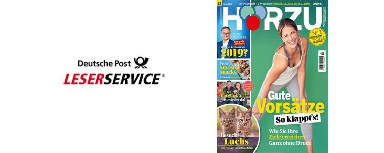 Deutsche Post Leserservice: Hörzu