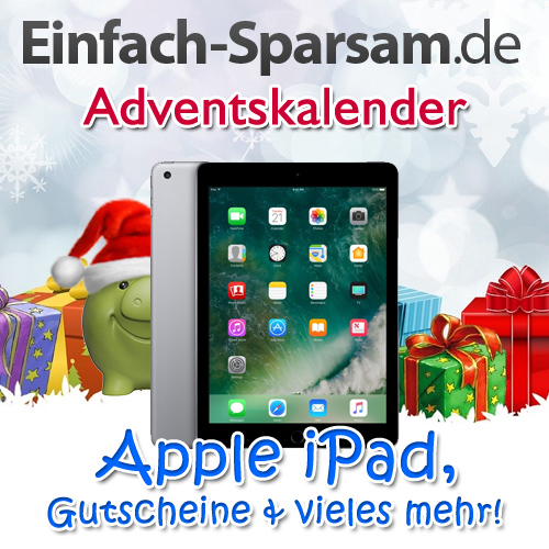Einfach-Sparsam.de-Adventskalender