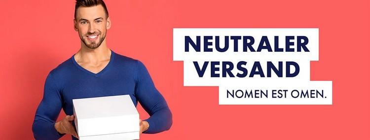 Neutraler Versand Eis.de