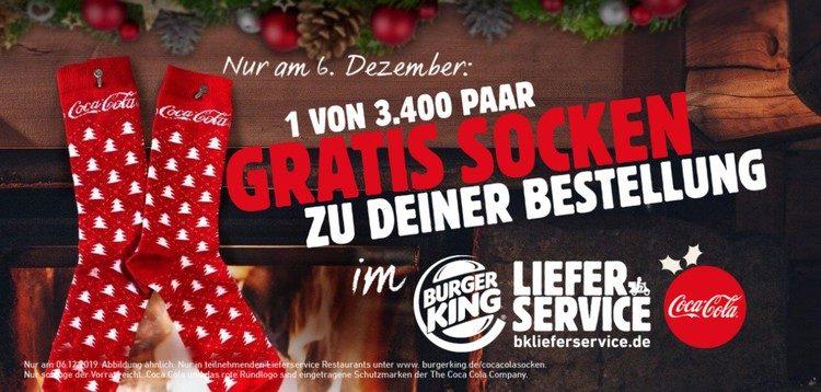 Gratis Coca Cola Socken