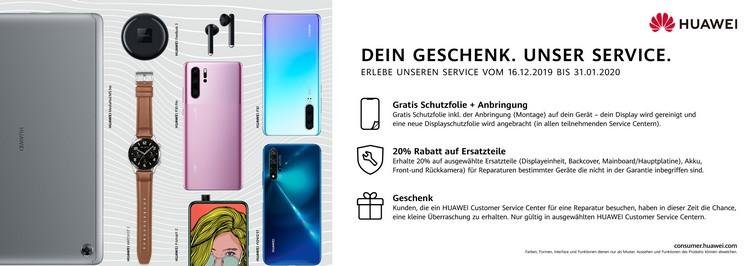 Service-Aktionen bei Huawei