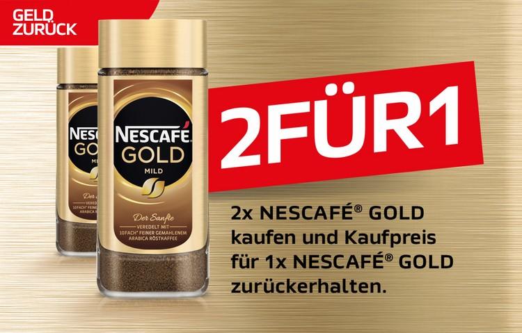 Nescafé Gold gratis