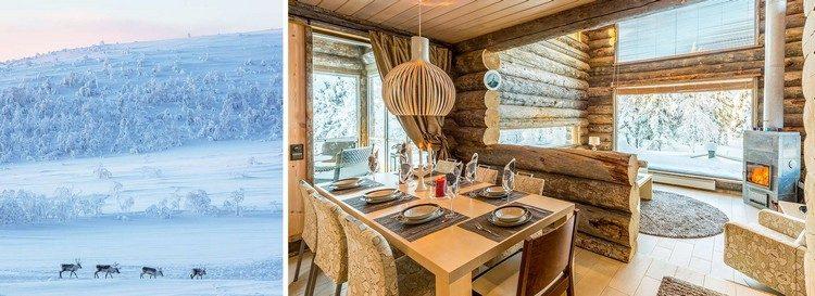 Finnische Hütte