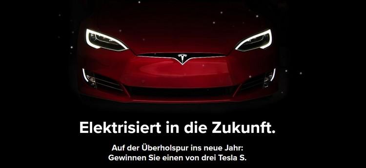 Tesla gewinnen