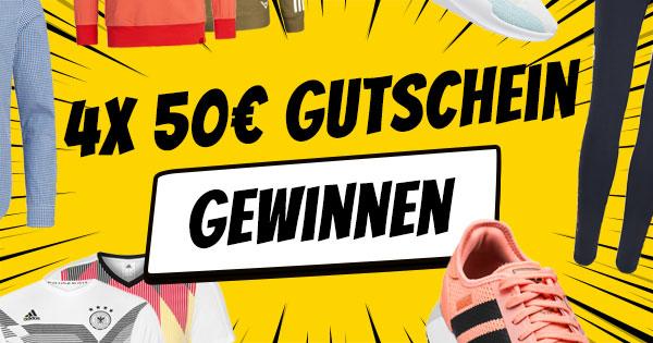 Türchen 8: 4x 50€ SportSpar-Gutschein gewinnen