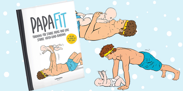 Papa-Fit-Trainingsbuch