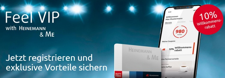 Heinemann & Me VIP-Karte