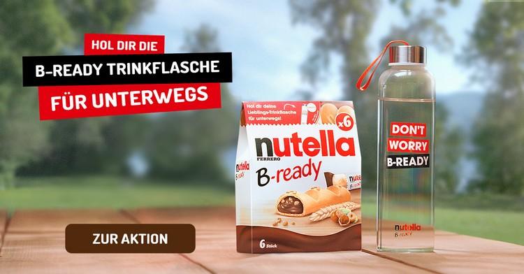 Nutella B-Ready Trinkflasche