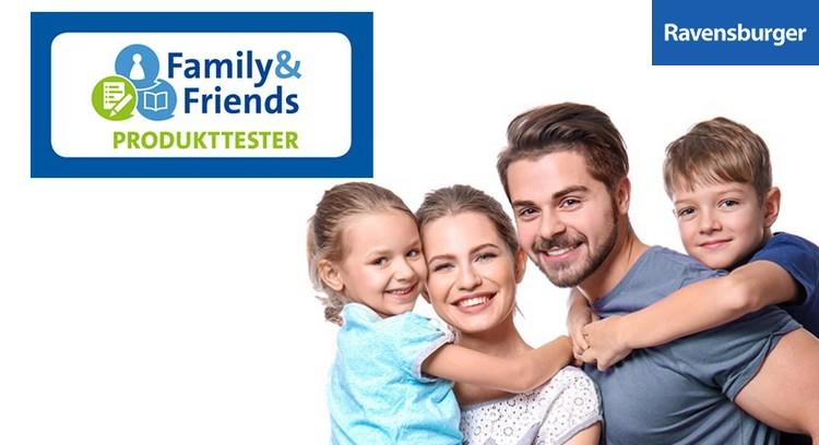 Family & Friends Produkttester